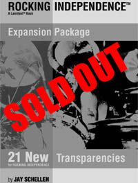 Expansion Package-21 New Transparencies for Rocking Independence